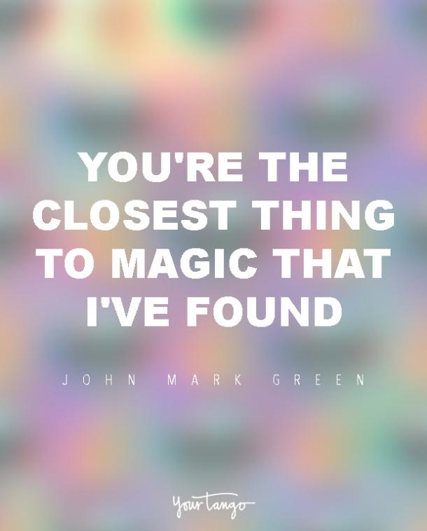 John Mark Green sexy woman quotes