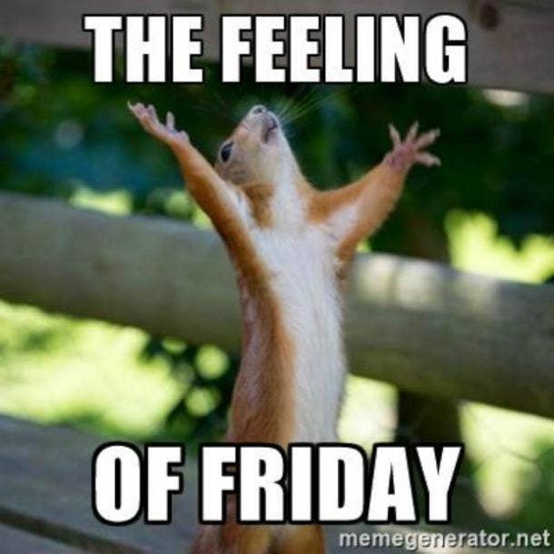 Funny Friday Feeling Meme