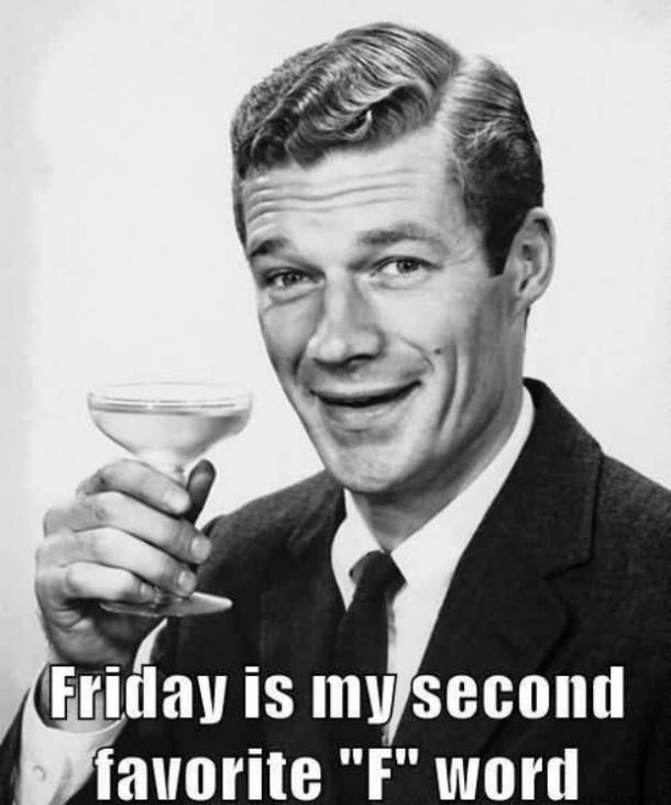 Friday f-word meme