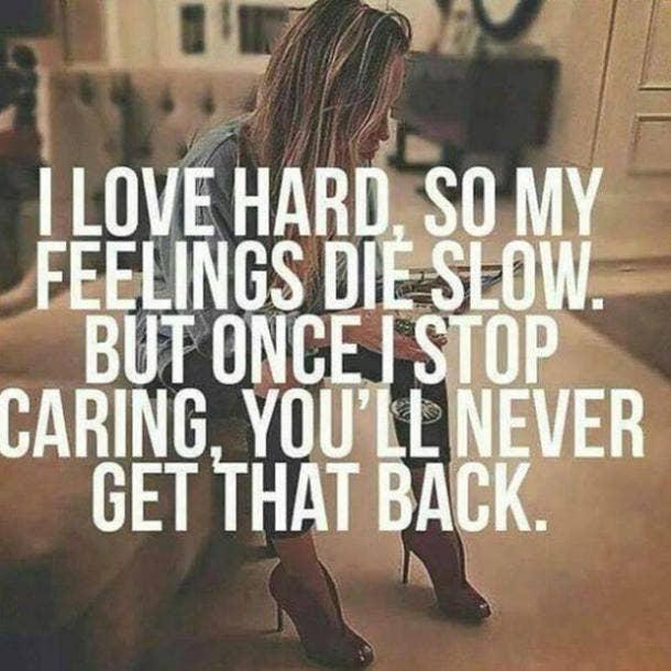 Feelings Quote