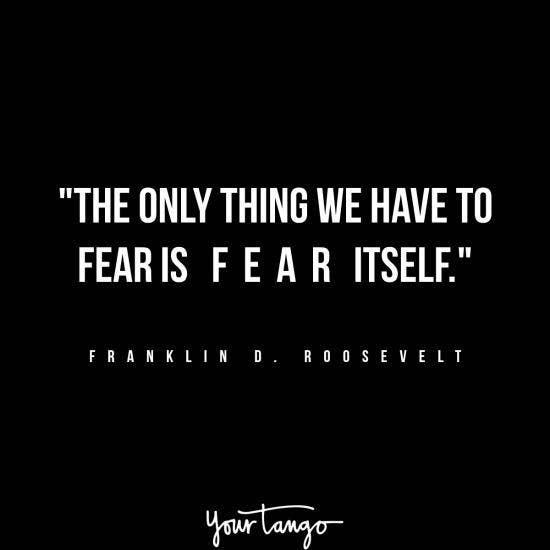 Franklin D. Roosevelt inspirational president quotes