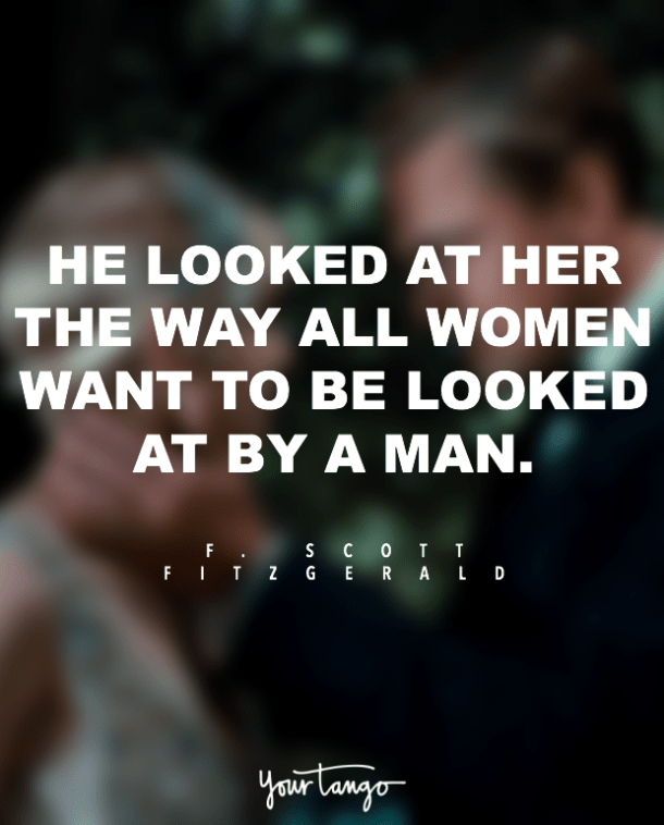 he looked at her gatsby quotes