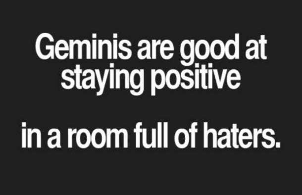 Gemini positivity