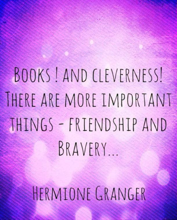 Hermione Granger Harry Potter quotes