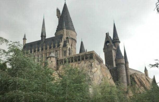 Hogwarts Harry Potter castle