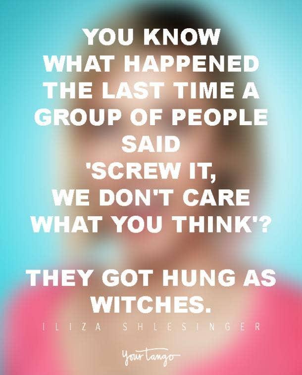 Iliza Shlesinger Funny Quotes