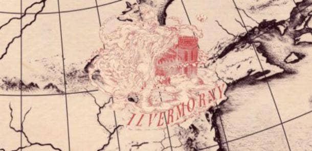 Ilvermorny Harry Potter school