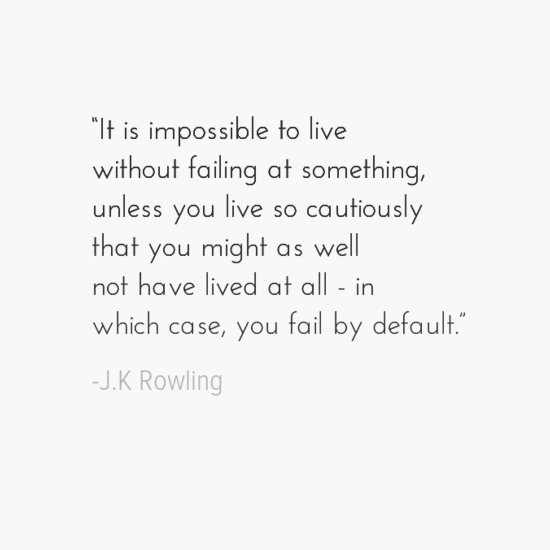 J.K. Rowling inspirational quotes