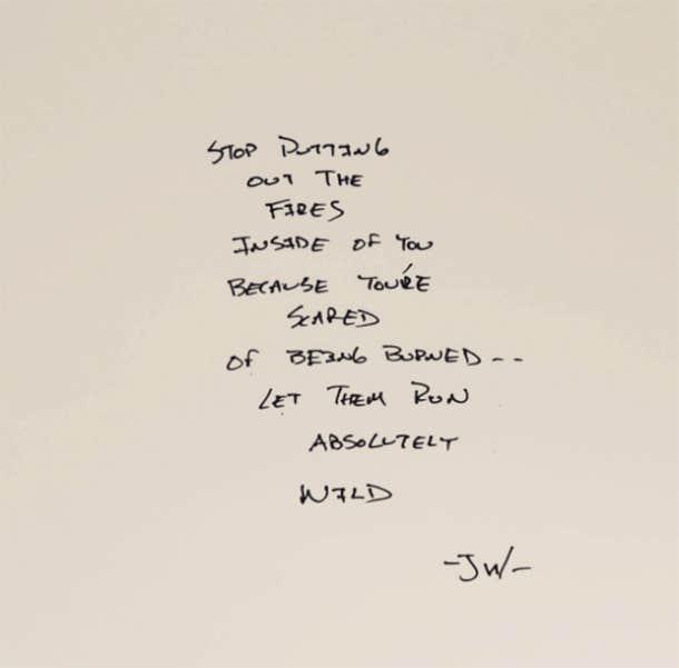 Jarod Wabick Instagram Poetry Love Yourself Quotes.