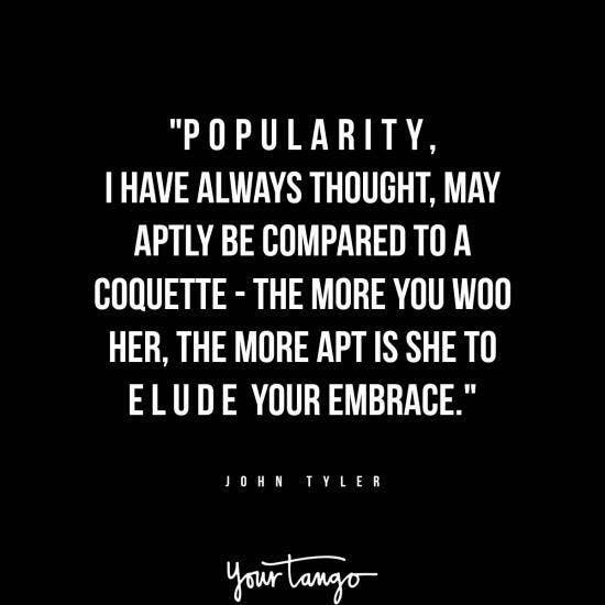 John Tyler inspirational president quotes
