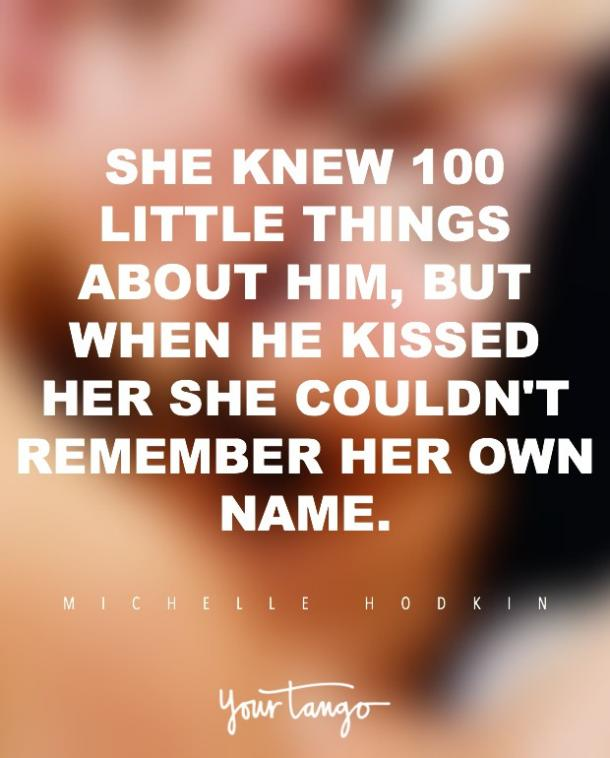 Michelle Hodkin kiss quotes about kissing