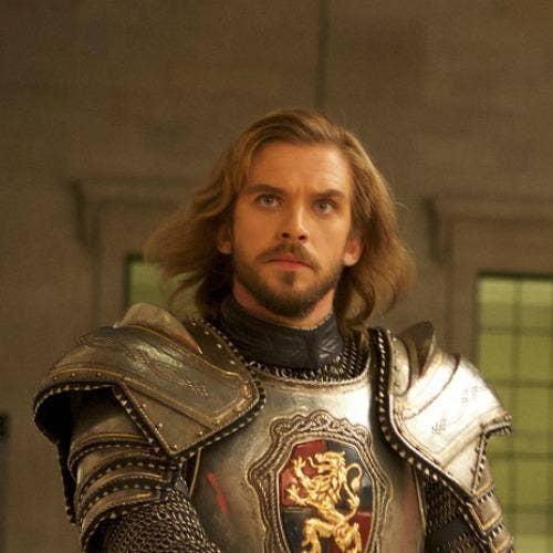 love Dan Stevens Sir Lancelot villain