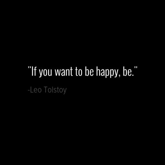 Leo Tolstoy happiness quotes
