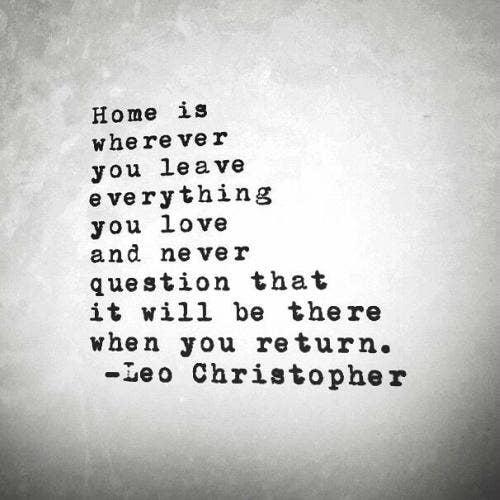 Leo Christopher Quote
