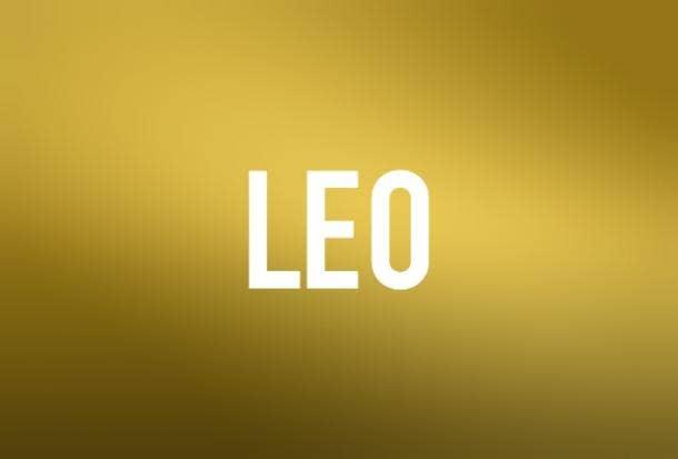 Leo Zodiac Astrology I Love You