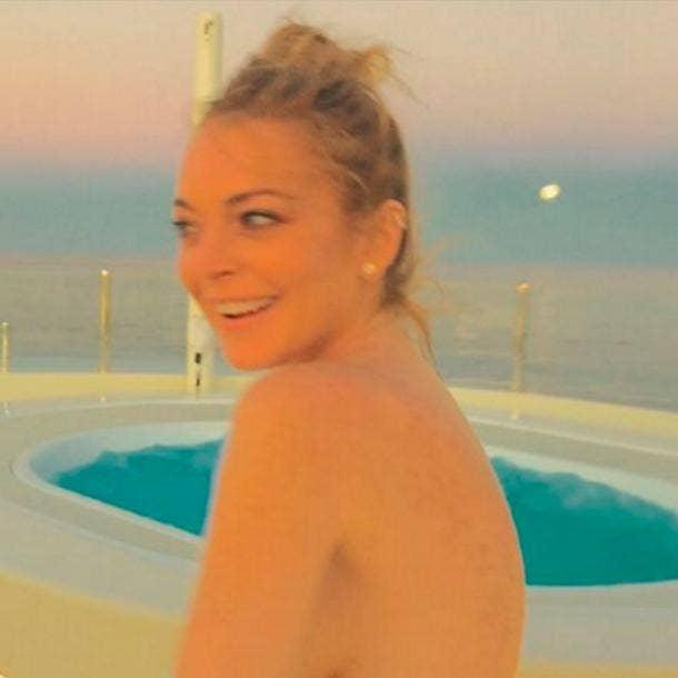 Lindsay Lohan Nude Celebrity pics