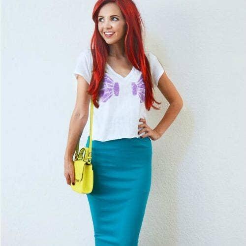 Ariel Little Mermaid halloween costume