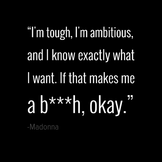 Madonna women quotes