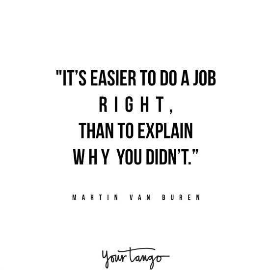 Martin Van Buren inspirational president quotes