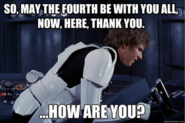 mat the fourth meme for star wars day