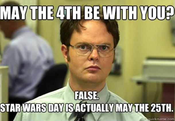 star wars meme for may 4th