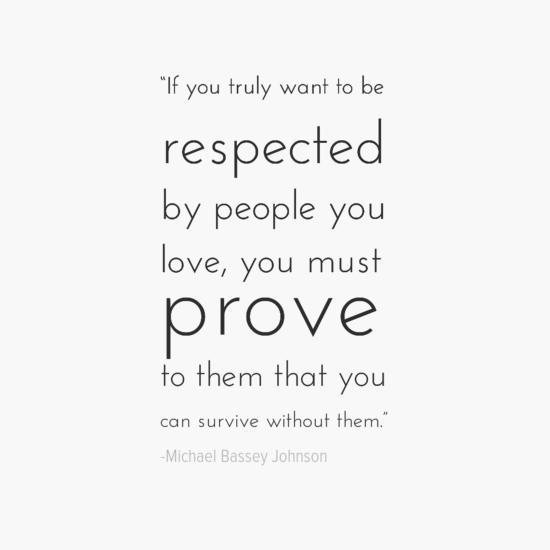 Michael Bassey Johnson inspirational single quotes