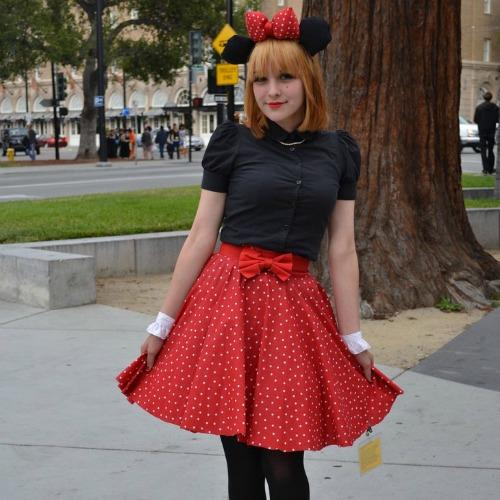 Minnie Mouse Disney halloween costume