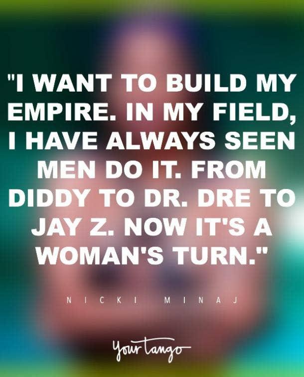 11 Inspiring Nicki Minaj Quotes To Boost Your Self Esteem Yourtango