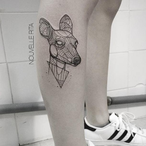 Nouvelle Rita Geometric Unique Tattoo