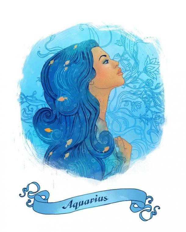 Aquarius Zodiac Sign Stress Relief