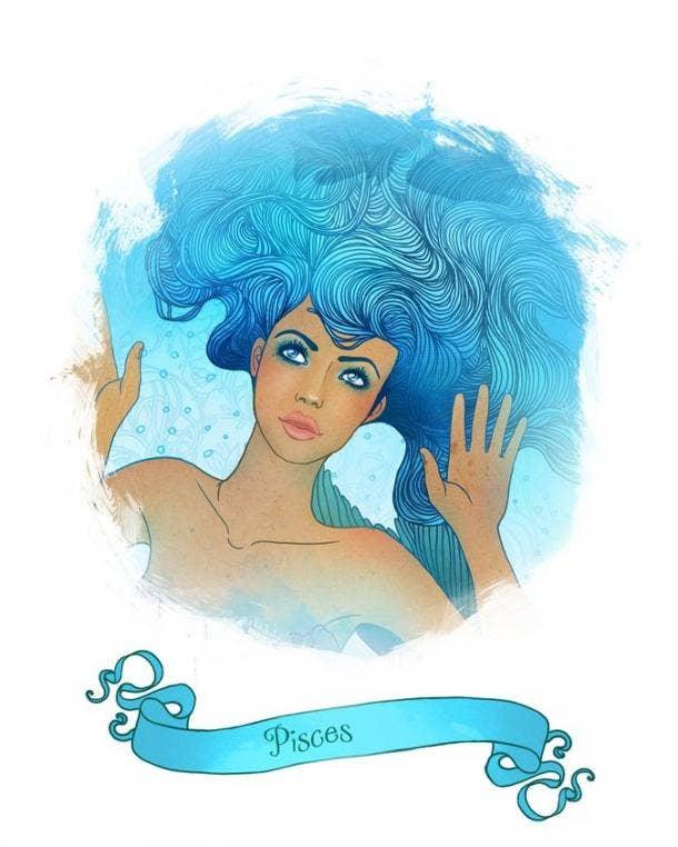 Pisces Zodiac Sign Stress Relief