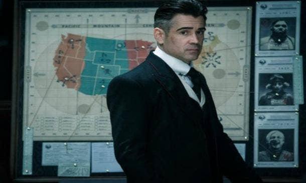 Percivel Graves Colin Farrell auror Fantastic Beasts