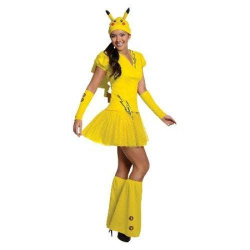 Pikachu Pokemon halloween costume