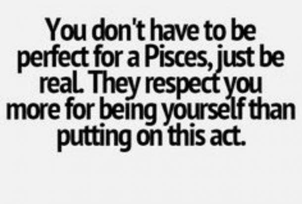 Pisces respect
