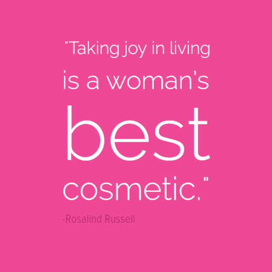 Rosalind Russell women quote