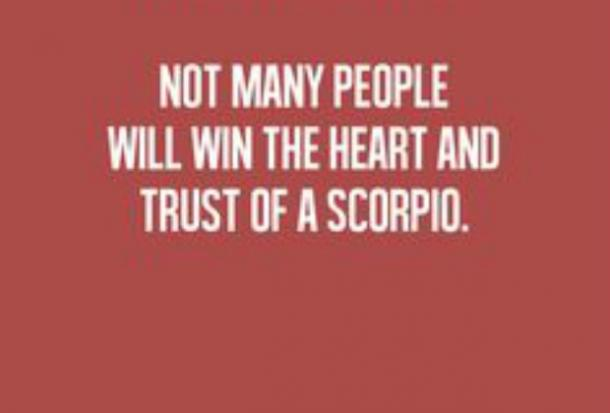 Scorpio love