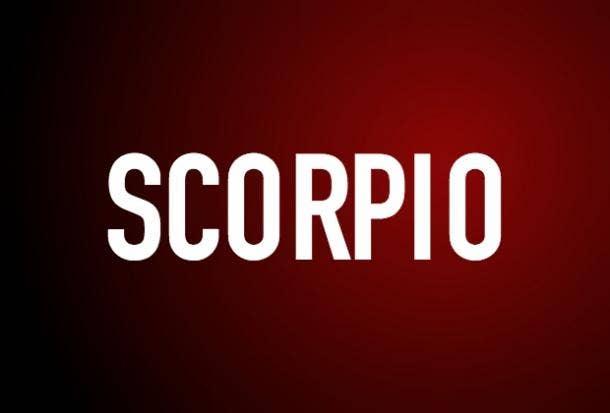 Zodiac Astrology Girlfriend Scorpio