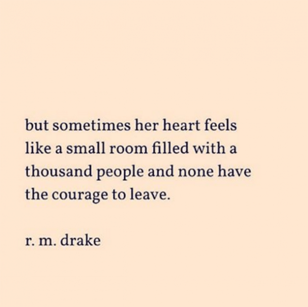 Small Life Quote Alluring 15 Totally Relatable Instagram Quotespoet R.m.drake  Yourtango