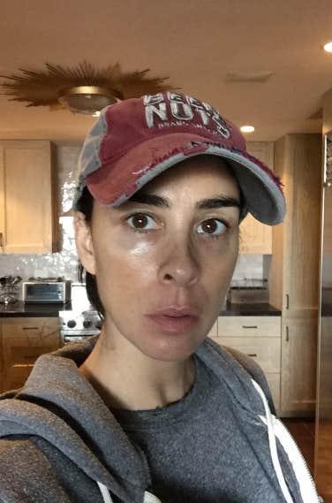 no makeup selfies