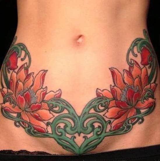 vagina tattoo ideas