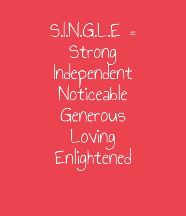 For single