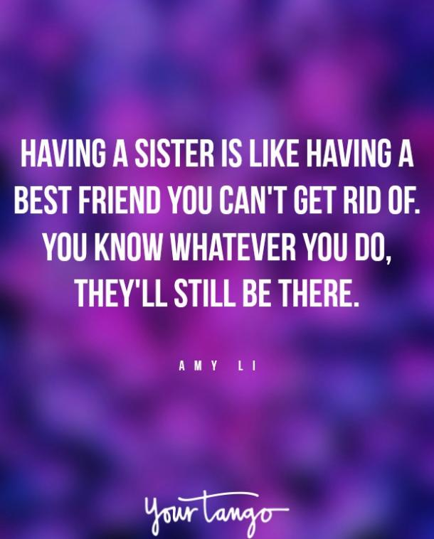 amy li sister fight quote
