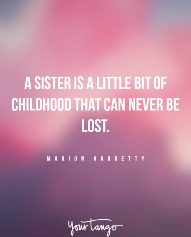 marion garretty sister fight quote