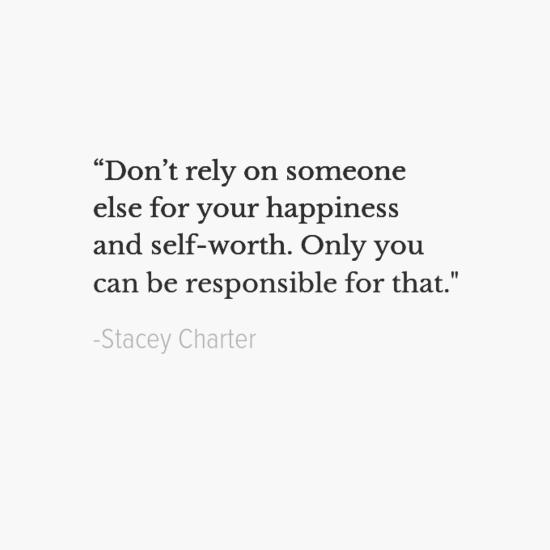 ستايسي تشارتر جعل اقتباسات السعادة الخاصة بك