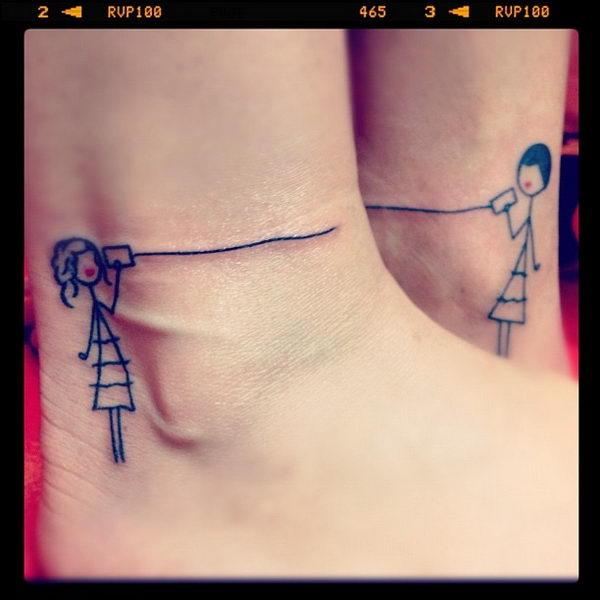 best friend tattoos