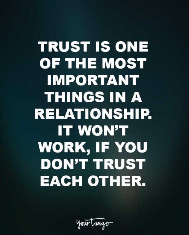 Image of: Sayings Yourtango 30 Trust Quotes That Prove Its Important In Relationships Yourtango