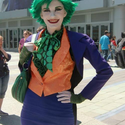 The Joker halloween costume