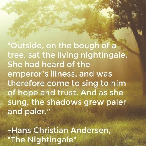 Hans Christian Andersen inspirational quotes