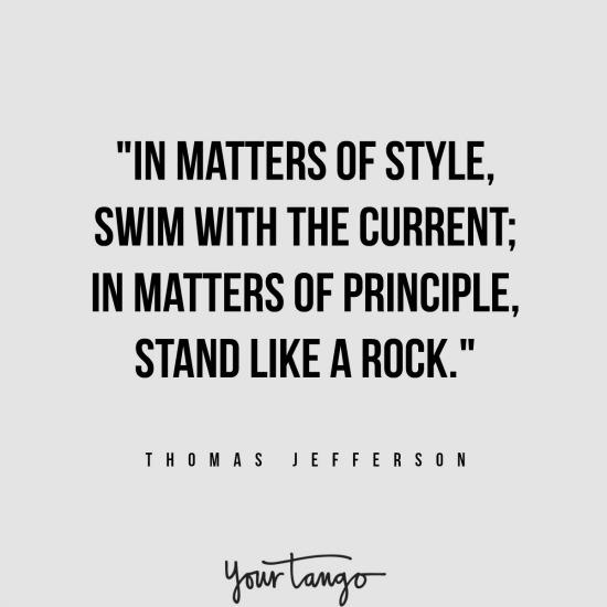 Thomas Jefferson inspirational president quotes