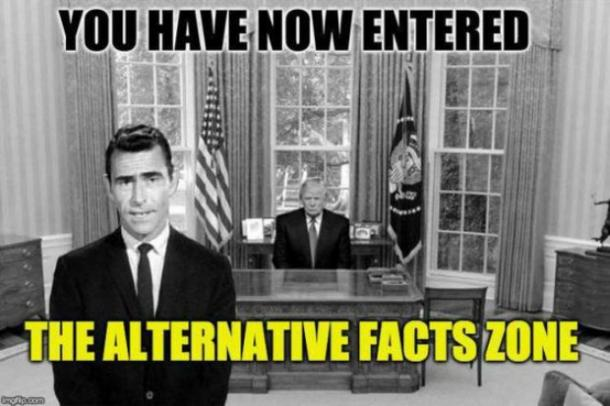 Best Donald Trump meme : Alternative facts